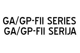 GA/GP-FII SERIJA
